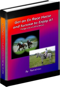 Get an Ex Race Horse and Survive to Enjoy it!
